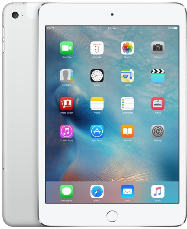 Apple iPad mini 4 Wi-Fi 128GB - Silver image 1