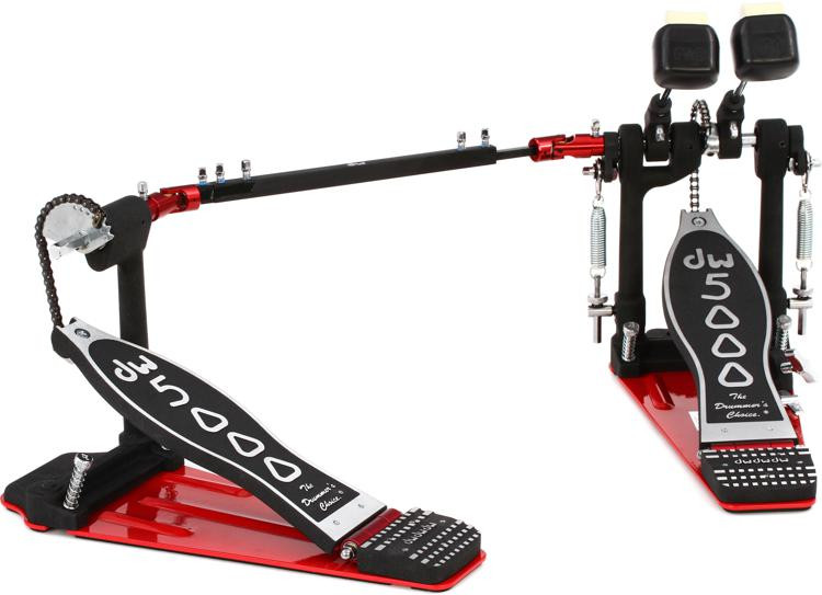 dw 5000 series accelerator double bass drum pedal single chain sweetwater. Black Bedroom Furniture Sets. Home Design Ideas