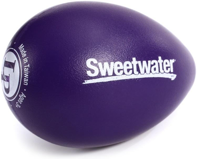 Latin Percussion Sweetwater Egg Shaker - Purple image 1