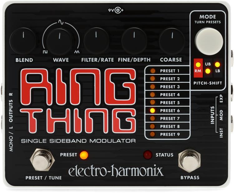 Electro-Harmonix Ring Thing Single Sideband Ring Modulator Pedal image 1