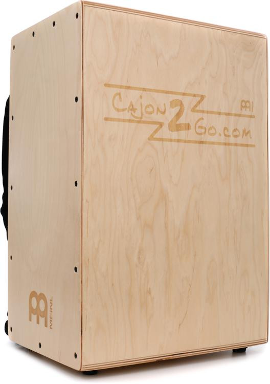 Meinl Percussion Backpacker Cajon - with Internal Snares and Backpack Straps image 1