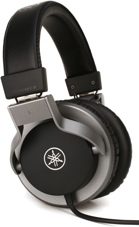 yamaha hph mt7 on ear headphones black sweetwater. Black Bedroom Furniture Sets. Home Design Ideas