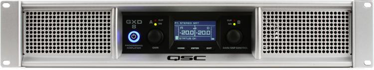QSC GXD 8 Power Amplifier image 1