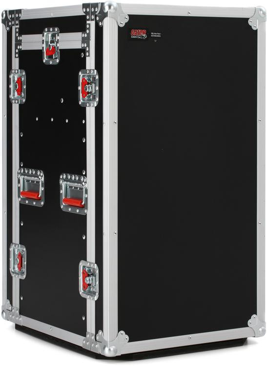 Gator G-TOUR 10X14 PU - 10U Top, 14U Side Audio Road Rack Case image 1