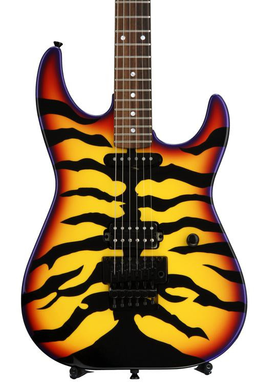 ESP George Lynch Signature - Sunburst Tiger image 1