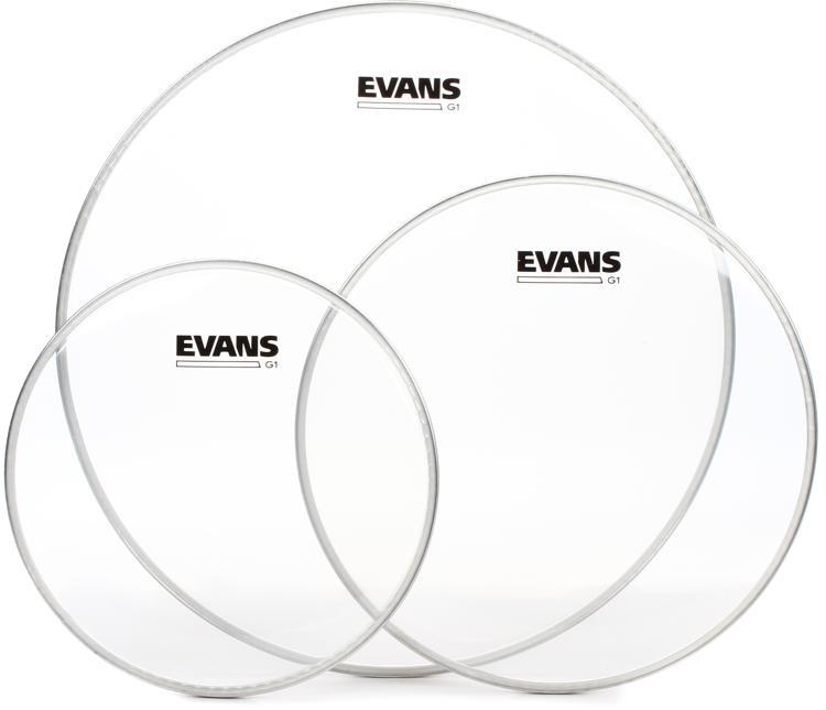 Evans G1 Tom Pack - 10, 12, 16 - Clear image 1