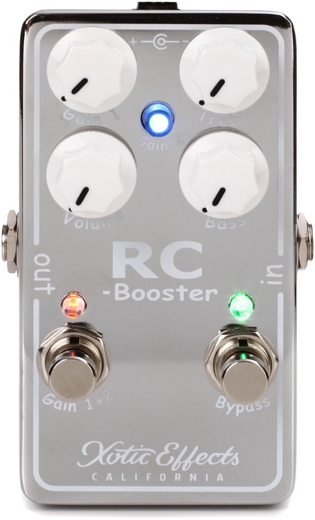 Xotic RC Booster-V2 Pedal image 1