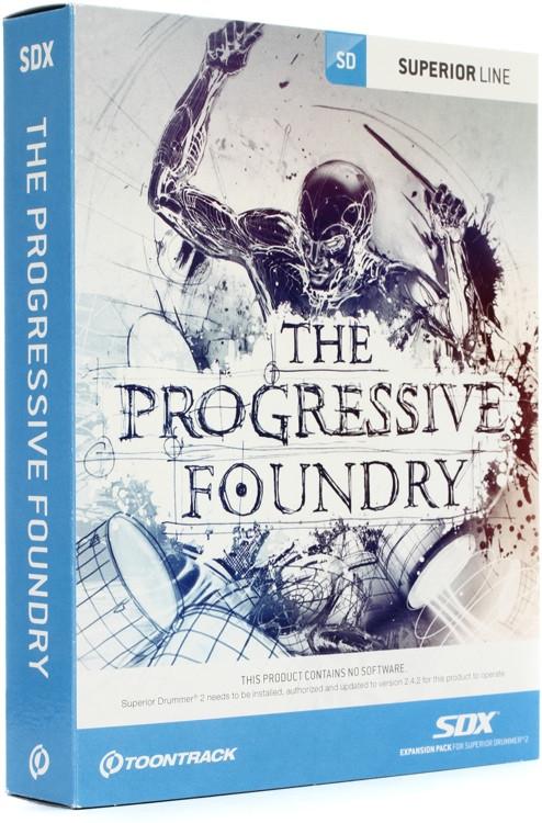Toontrack Progressive Foundry SDX (boxed) image 1