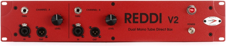 A Designs REDDI (v2) 2-channel Tube Instrument Direct Box image 1