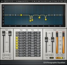 Waves Q10 Equalizer Plug-in