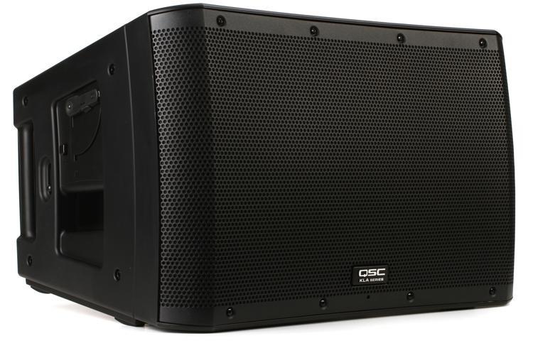 qsc kla12 1000w 12 powered line array speaker sweetwater. Black Bedroom Furniture Sets. Home Design Ideas