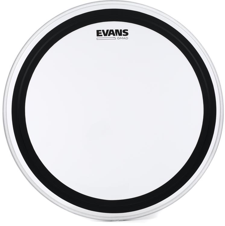 Evans GMAD Clear Drumhead with Damping System - 20