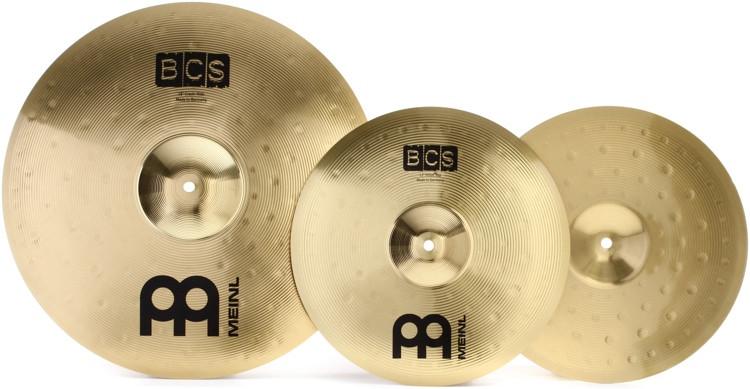 Meinl Cymbals BCS 2-piece Cymbal Box Set - 13