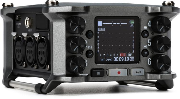 Zoom F6 Multitrack Field Recorder image 1