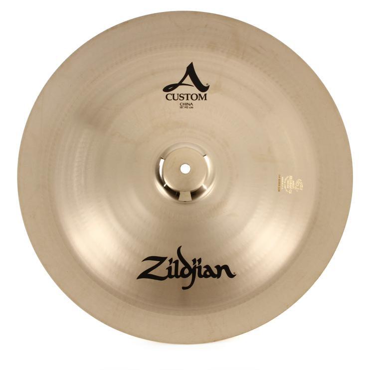 zildjian 18 a custom china crash cymbal sweetwater. Black Bedroom Furniture Sets. Home Design Ideas