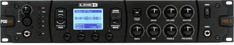 Line 6 POD HD Pro X Guitar Effects Rack Processor image 1