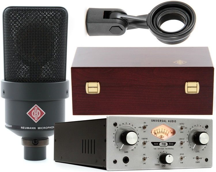 Neumann TLM 103 Black + Universal Audio 710 image 1