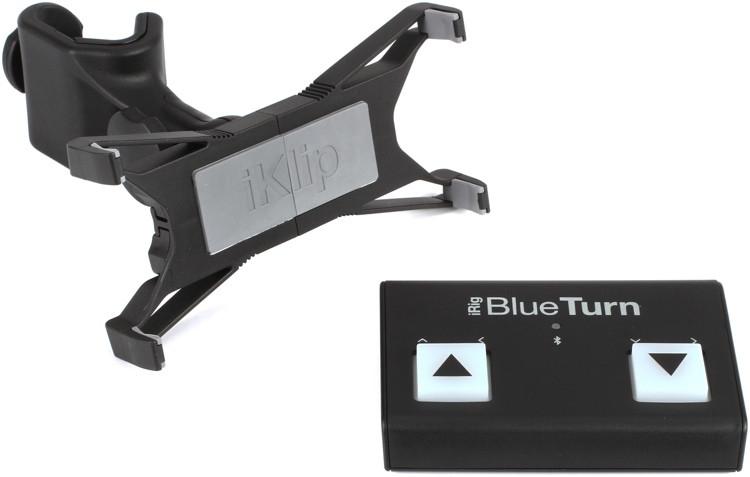 IK Multimedia iRig BlueTurn + iKlip Xpand Bundle image 1