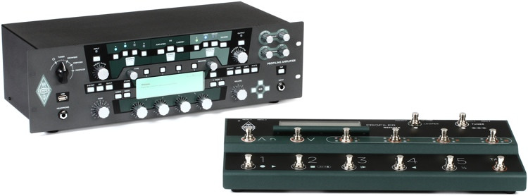 Kemper Profiler Rack + Profiler Remote - Rackmount Profiling Amp Head with Remote Controller image 1