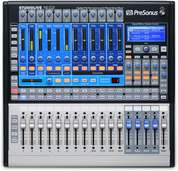 PreSonus StudioLive 16.0.2 Digital Mixer image 1