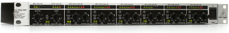 Behringer Ultralink PRO MX882 8-channel Mixer / Splitter image 1