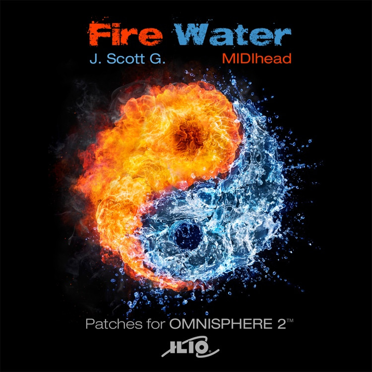 Ilio Fire Water Patch Collection for Omnisphere 2 image 1