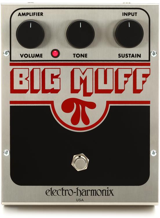 electro harmonix big muff pi fuzz pedal sweetwater. Black Bedroom Furniture Sets. Home Design Ideas
