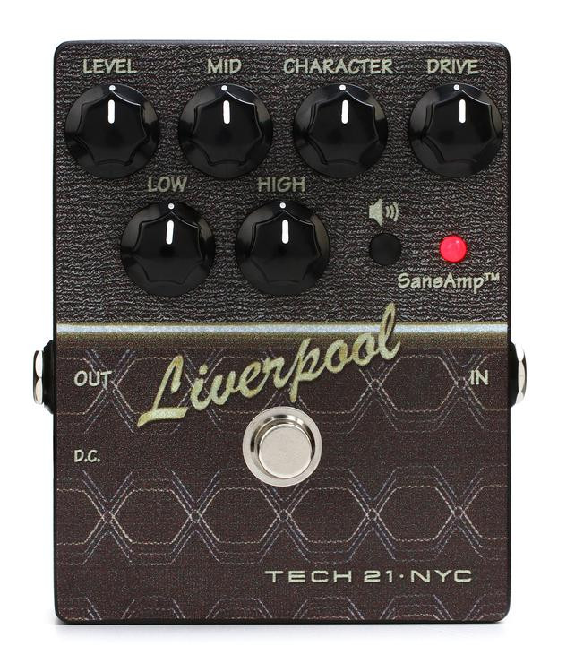 Tech 21 SansAmp Character Series Liverpool V2 Overdrive Pedal image 1