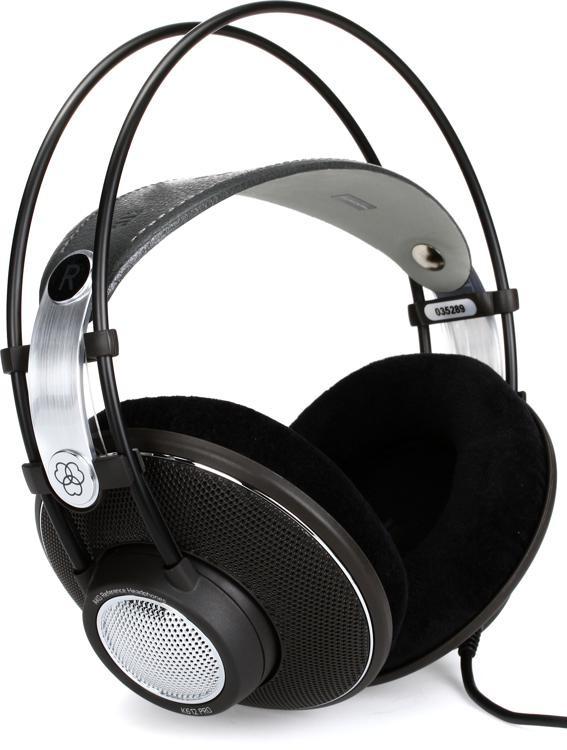 AKG K612 Pro Open-back Monitoring Headphones image 1