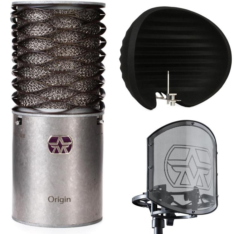 aston microphones origin microphone with halo and swiftshield sweetwater. Black Bedroom Furniture Sets. Home Design Ideas