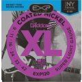 D'Addario EXP120 Coated Nickel Plated Steel Super Light Electric Strings