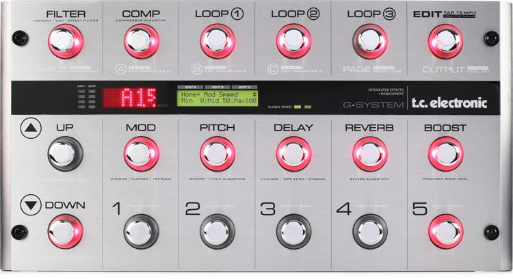 TC Electronic G-System Multi-effects Floor Processor image 1