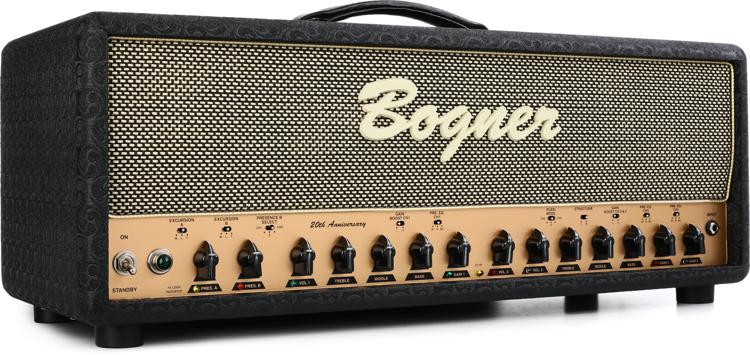 Bogner Ecstasy 20th Anniversary 100-watt Handwired Tube Head with 6L6\'s image 1