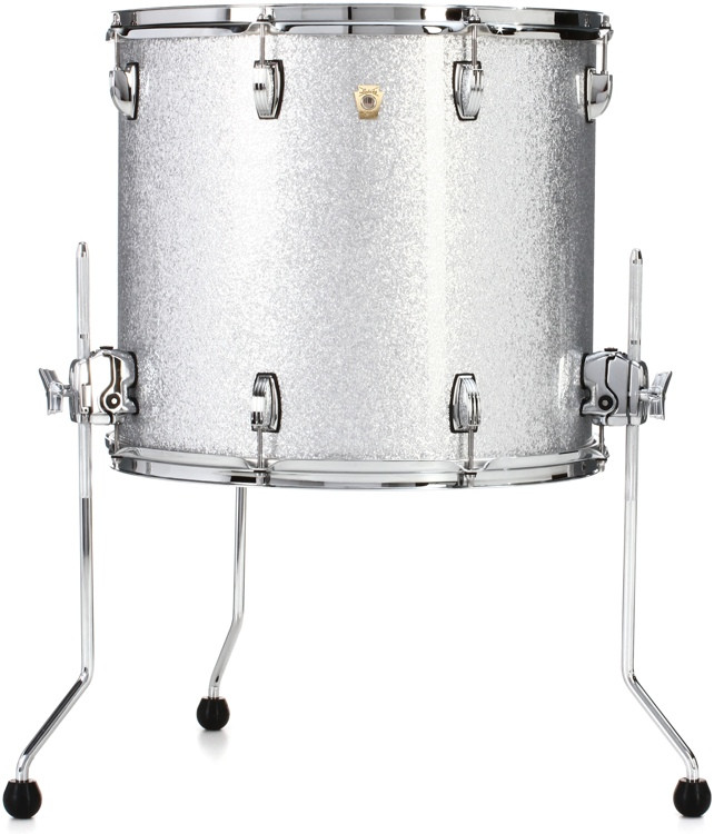 Ludwig Classic Maple Floor Tom - 16 x 18 inch - Silver Sparkle image 1