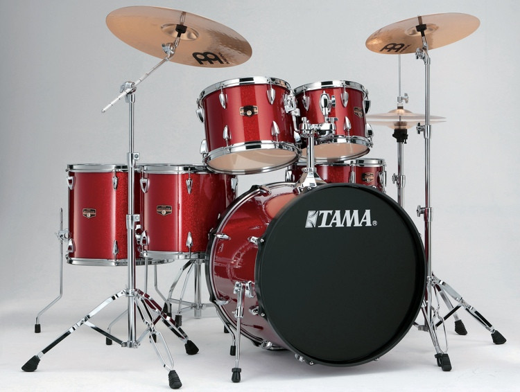 tama 2016 imperialstar complete drum set 6 piece candy apple mist sweetwater. Black Bedroom Furniture Sets. Home Design Ideas