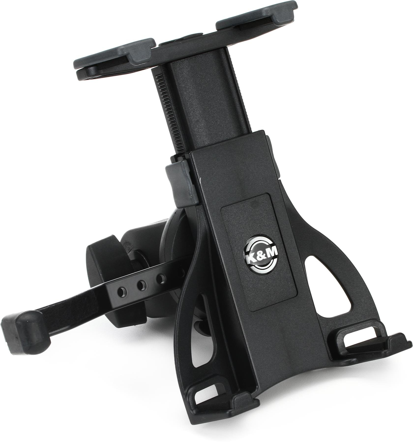 ku0026m km19742 universal tablet holder mic stand thread mount image 1 - Tablet Mount