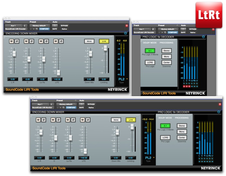 Neyrinck SoundCode LtRt Tools Plug-in Suite for Pro Tools image 1