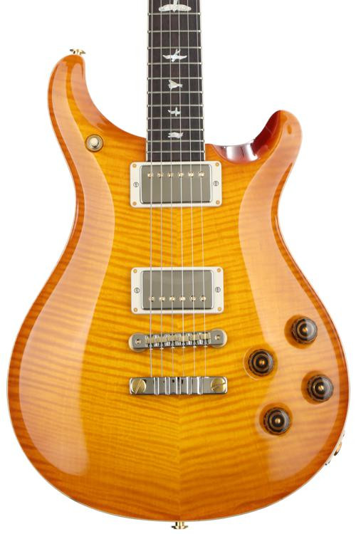 PRS McCarty 594 10-Top - McCarty Sunburst with Pattern Vintage Neck image 1