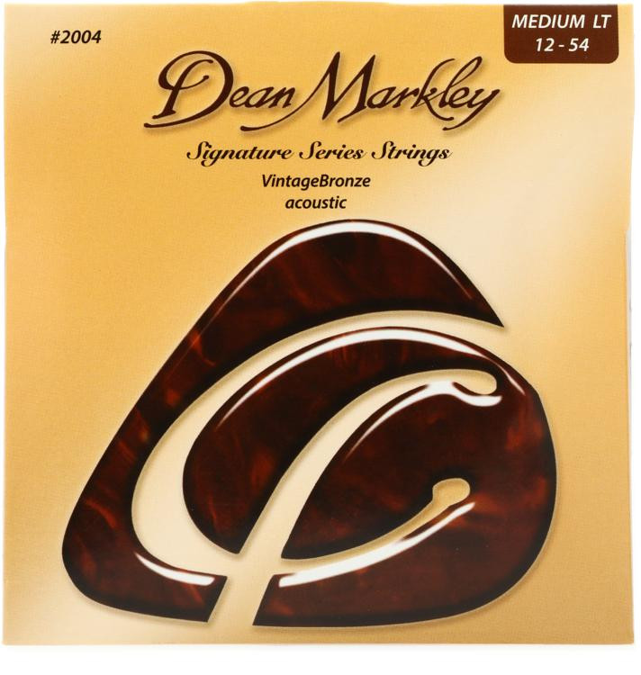 Dean Markley 2004 VintageBronze 85/15 Bronze Medium Light Acoustic Strings image 1