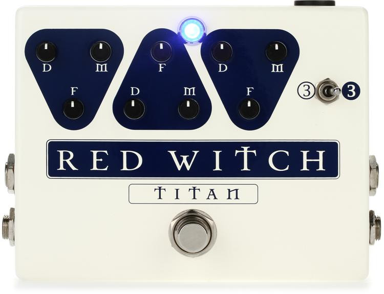 Red Witch Titan Triple Analog Delay Pedal image 1