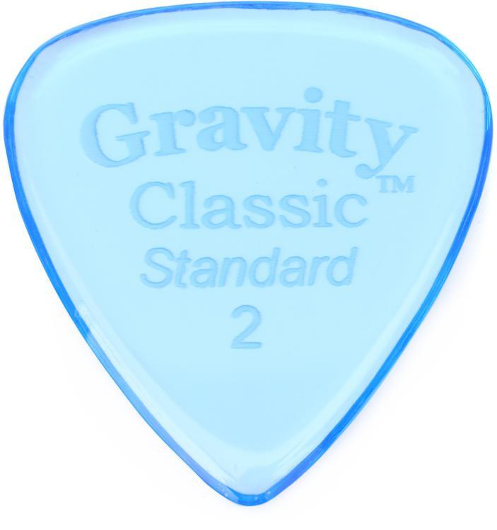 Gravity Picks Classic - Standard Size, 2mm, Polished image 1