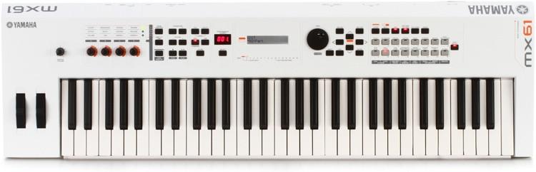 Yamaha mx61 white sweetwater for Yamaha mx61 specs