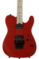 Charvel Pro-Mod San Dimas Style 2 HH Floyd Rose - Satin Red with Maple Fingerboard