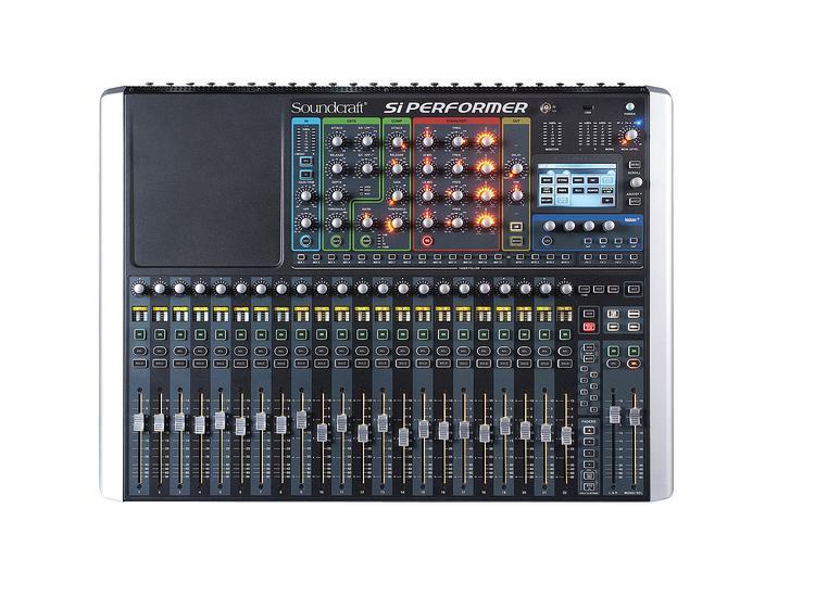 Soundcraft Si Performer 2 Digital Mixer with DMX Control image 1