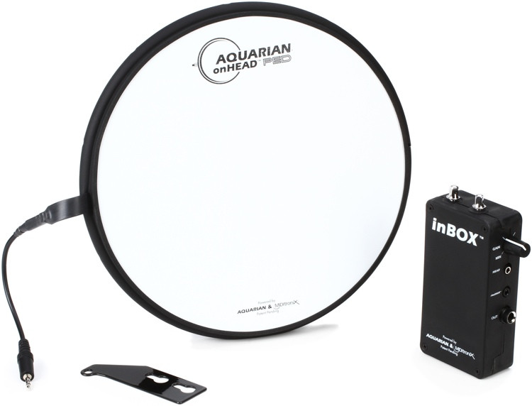 Aquarian Drumheads onHEAD Portable Electronic Drumhead with inBOX - 10