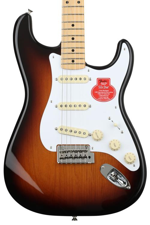 Fender Classic Player \'50s Stratocaster - 2-color Sunburst with Maple Fingerboard image 1