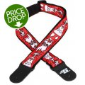 D'Addario Planet Waves 50mm Joe Satriani Woven Guitar Strap - Up In Flames
