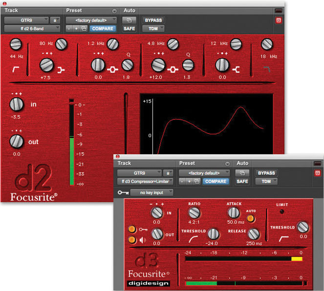 Focusrite d2/d3 Bundle Plug-in Bundle image 1