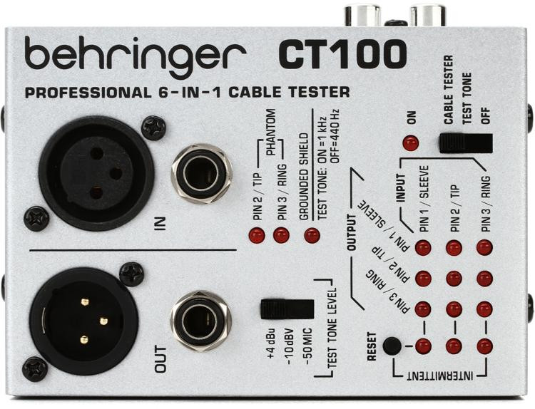 Behringer Cable Tester CT100 image 1