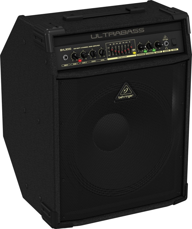 behringer bxl3000 300 watt 1x15 bass combo amp sweetwater. Black Bedroom Furniture Sets. Home Design Ideas